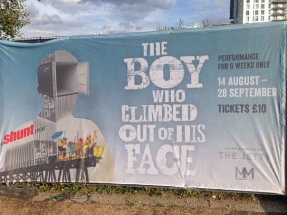 The Boy Who Climbed Out of His Face