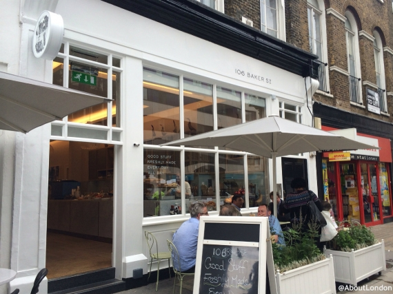 106 Baker Street Cafe Review
