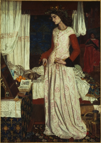 La Belle Iseult by William Morris, 1858 Filename: NPG_889_1329_LaBelleIseultb.jpg Copyright: Tate 2014