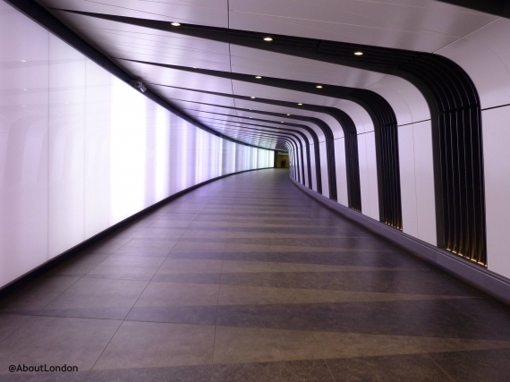 King s Cross Light Tunnel London - How Cool Is This?