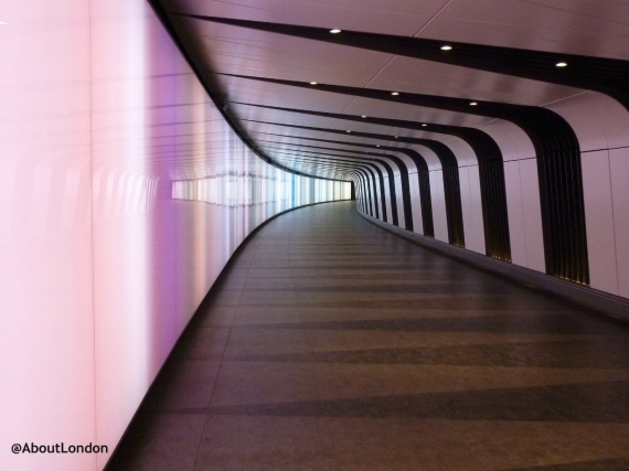 King's Cross Light Tunnel