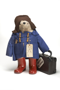 An original plush toy Paddington by Gabrielle Designs (1980). Image © Museum of London.
