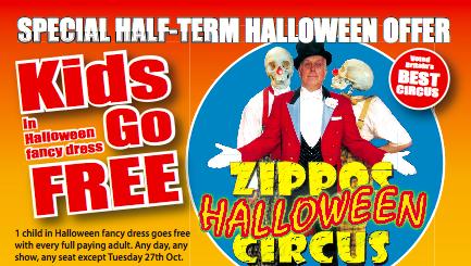 Zippos Circus Halloween