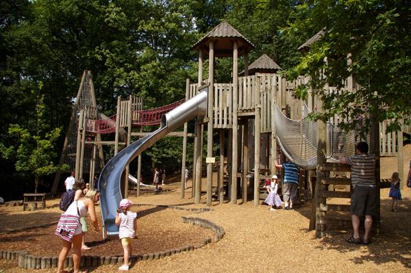 Chatsworth House playground