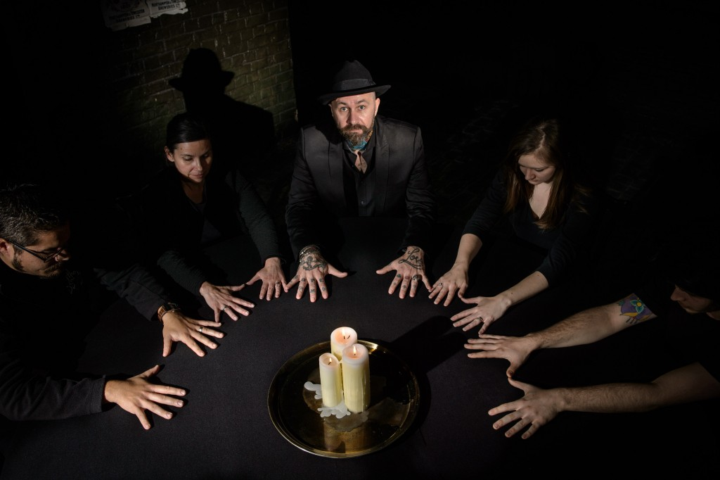 The London Dungeon seance 2015
