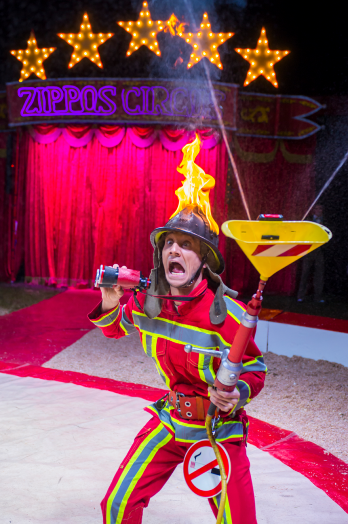 Zippos Circus Alex the Fireman