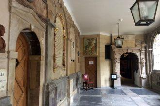 London Charterhouse ante-chapel