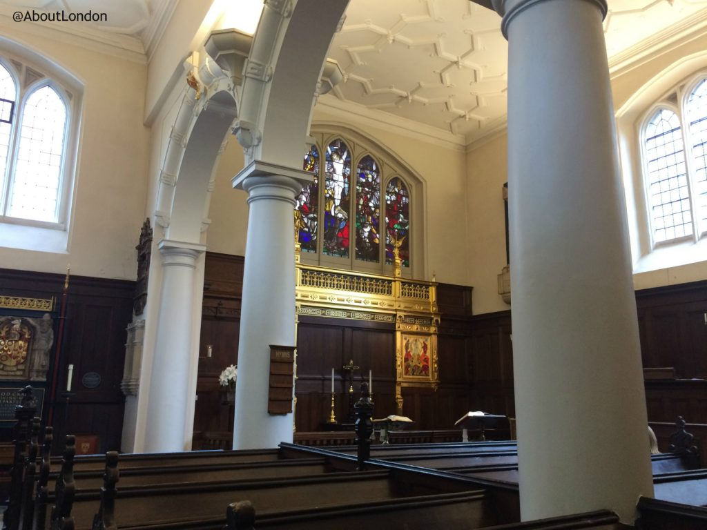 London Charterhouse chapel