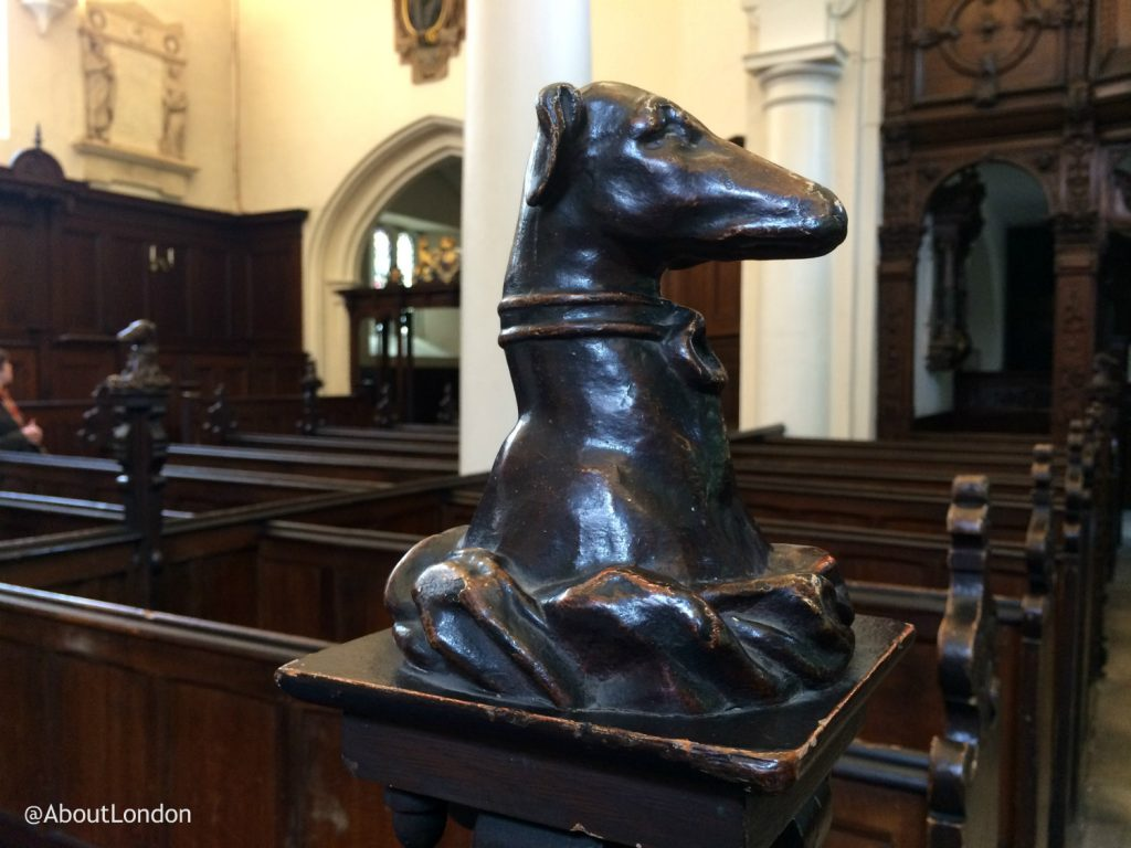 London Charterhouse greyhound