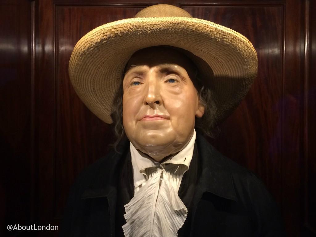 Jeremy Bentham Auto-Icon – @AboutLondon Laura Jeremy Bentham