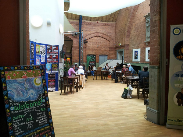 Drill Hall Cafe Lincoln