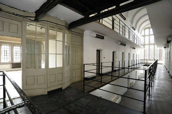 Inside Lincoln Castle Prisons