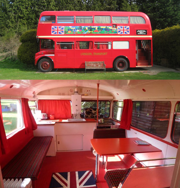 London Bus - Quirky Places to Stay