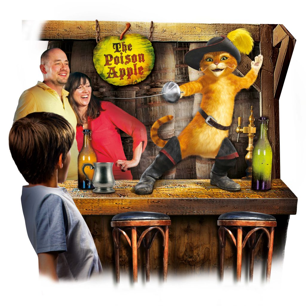 Poison Apple Pub - Shrek's Adventure London