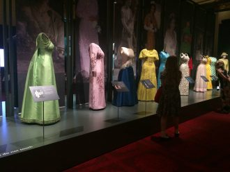 Queen's colourful dresses