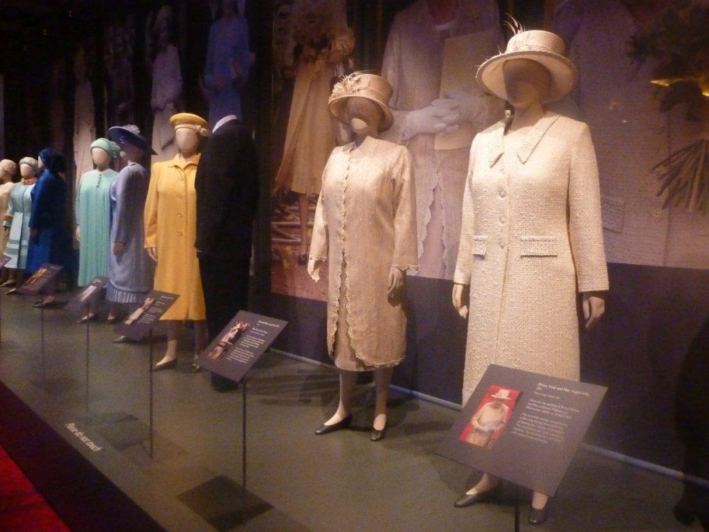 Queen's dresses