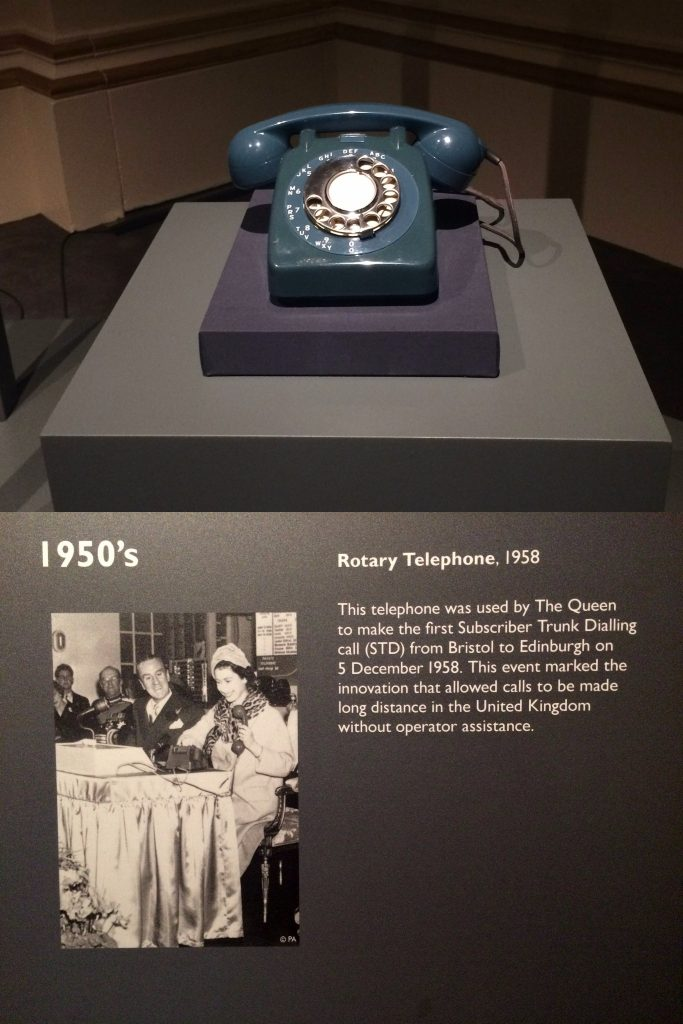 Royal telephone