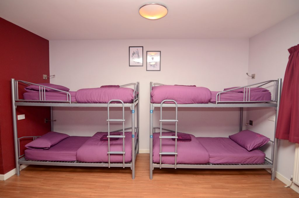Safestay Edinburgh - 8 person dorm