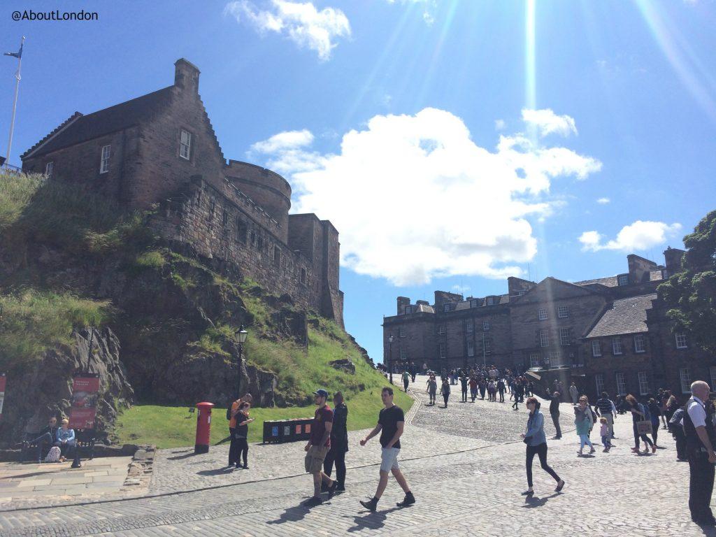 Edinburgh Castle - sunny day