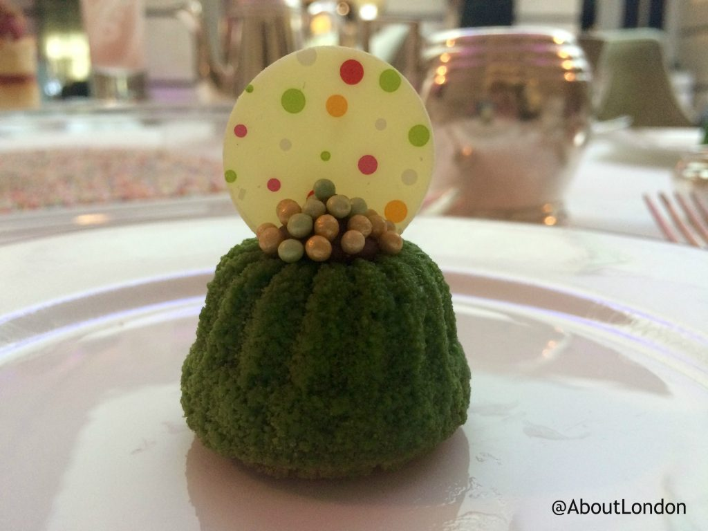 Conrad Candy Shop afternoon tea - Mint cheesecake
