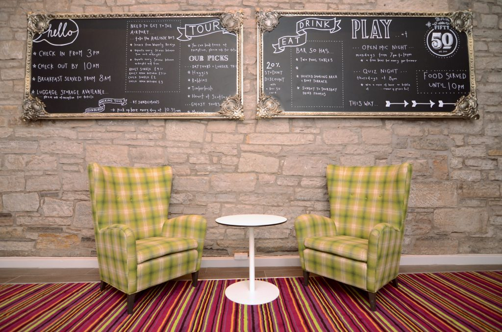 Safestay Edinburgh Reception