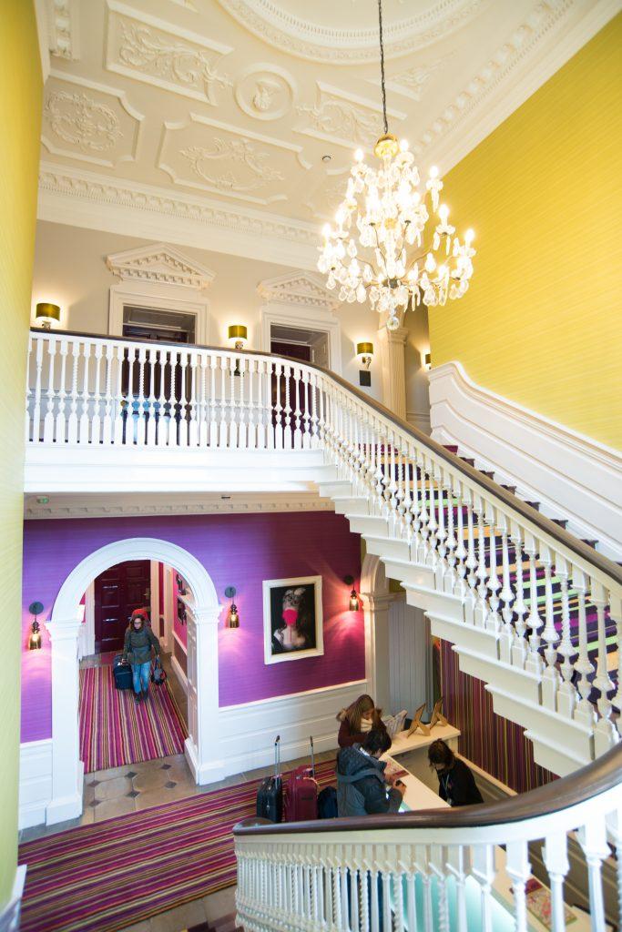 Safestay York stairs