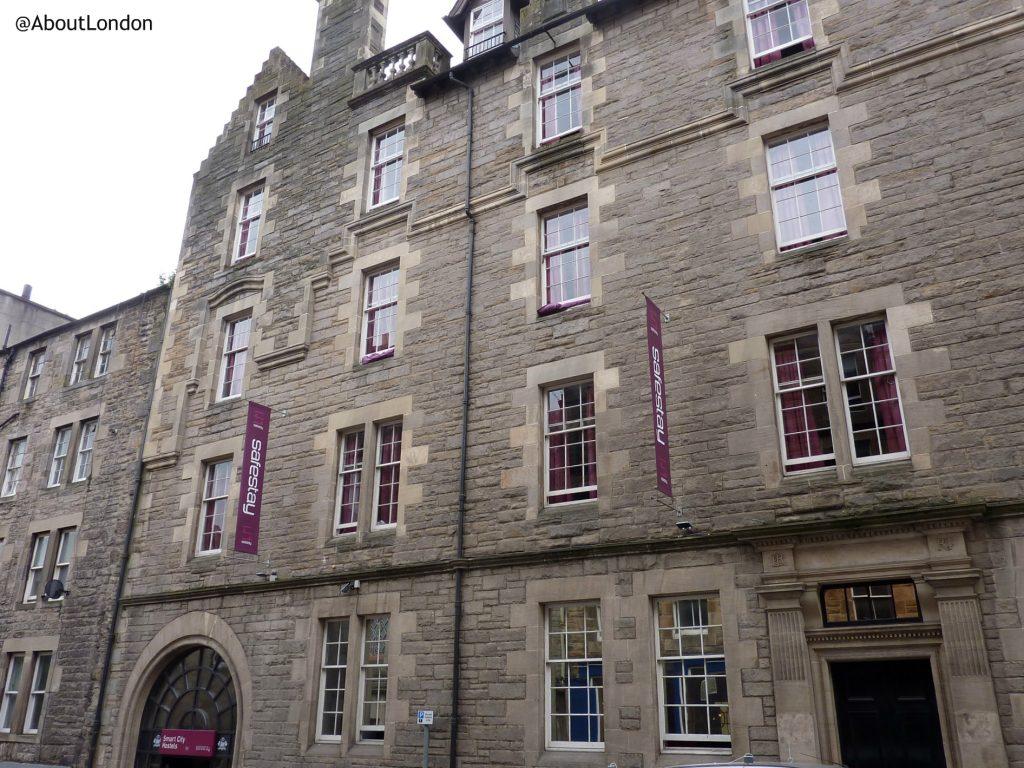 Safestay Edinburgh building
