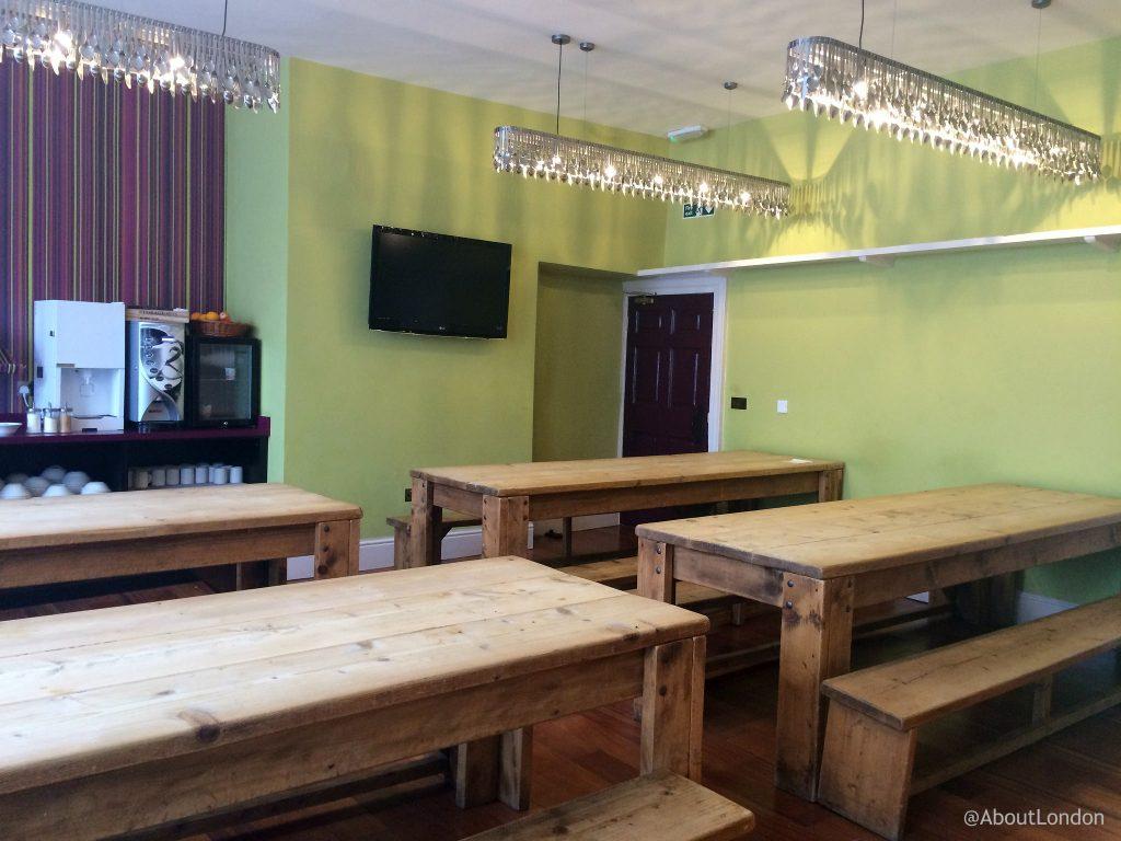Safestay York Dining Room