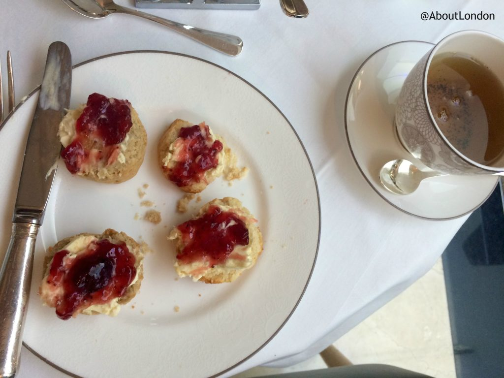 Conrad Candy Shop afternoon tea - scones