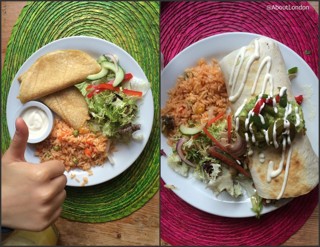 Viva Mexico Edinburgh - Mexican meal