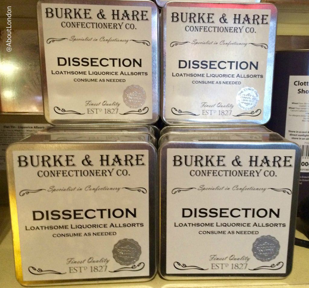 Burke & Hare biscuits - Edinburgh Dungeon