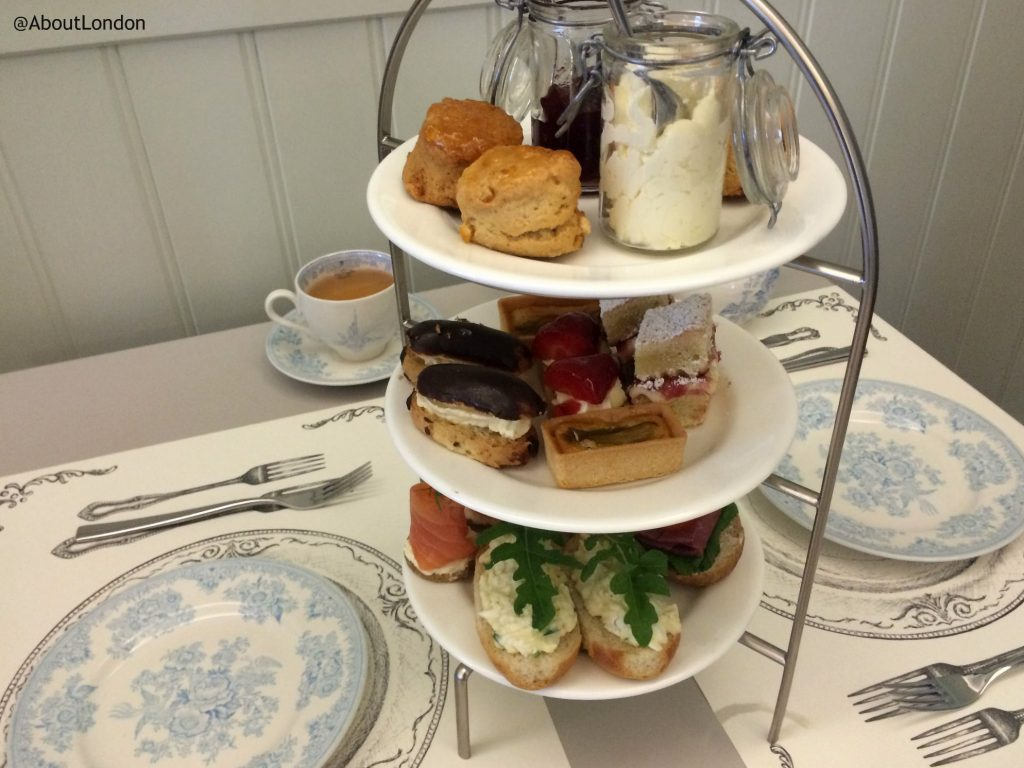 Afternoon tea at Palace of Holyroodhouse