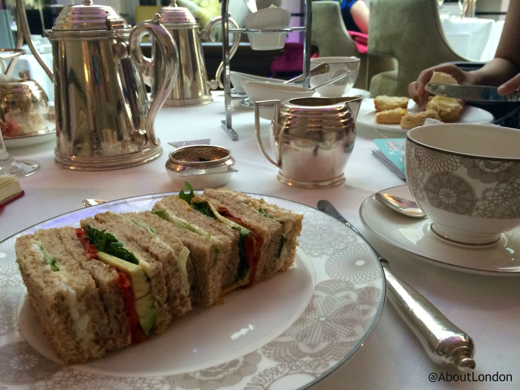 Conrad Candy Shop afternoon tea sandwiches