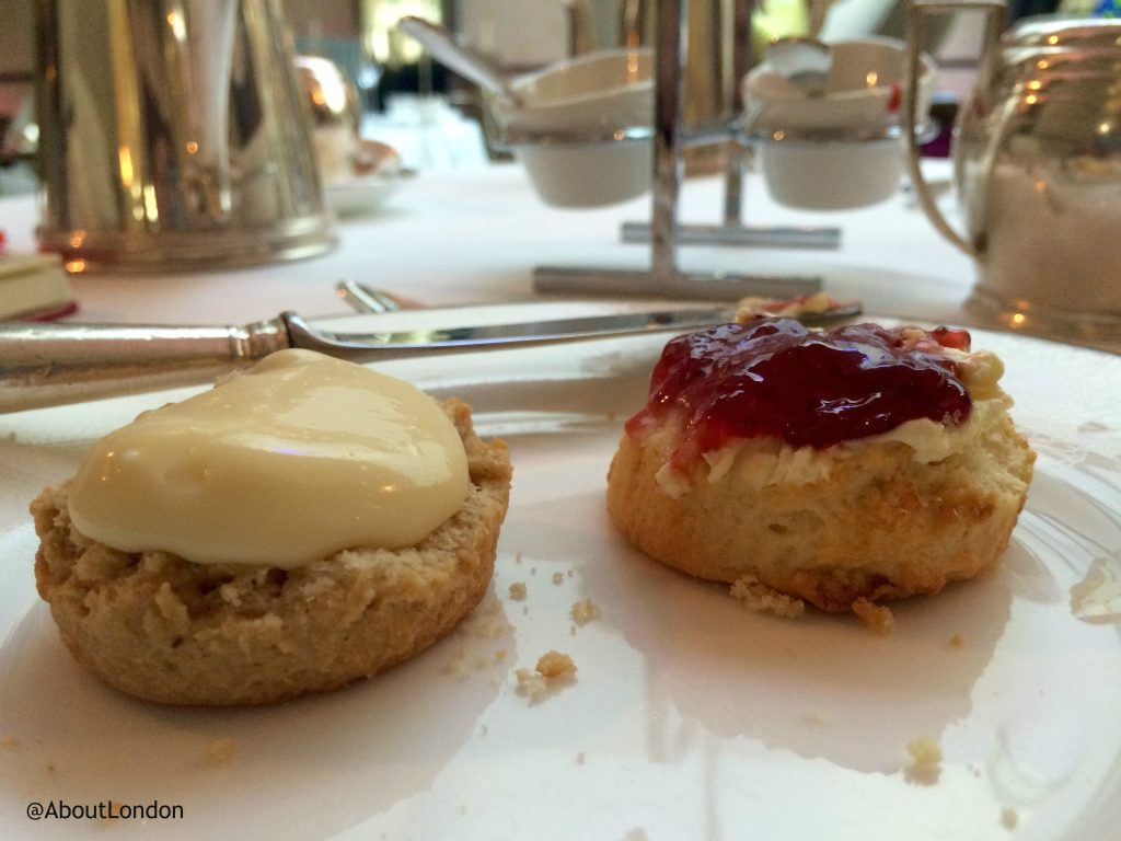 Scones at Palace of Holyroodhouse