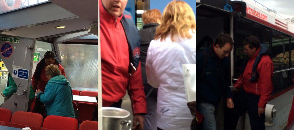 City Cruises staff begging