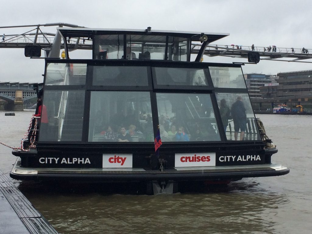 City Cruises London - City Alpha