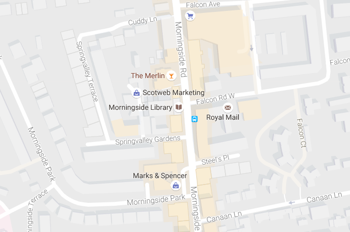 Morningside map