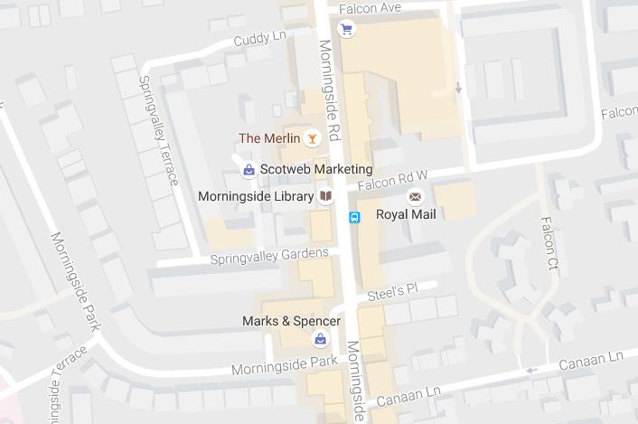 Morningside map
