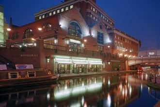 Brindley Place in Birmingham