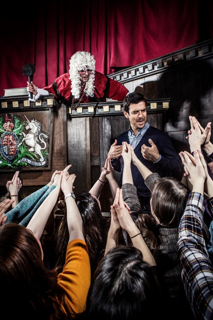 The London Dungeon Courtroom