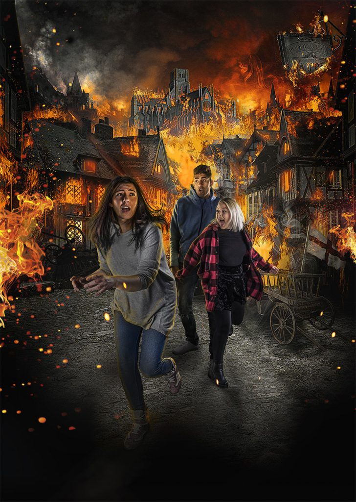 The London Dungeon - Great Fire of London
