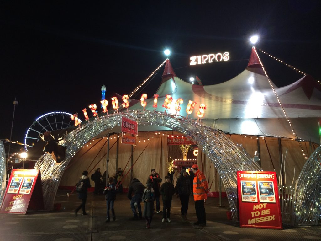 Winter Wonderland - Zippos Circus megadome