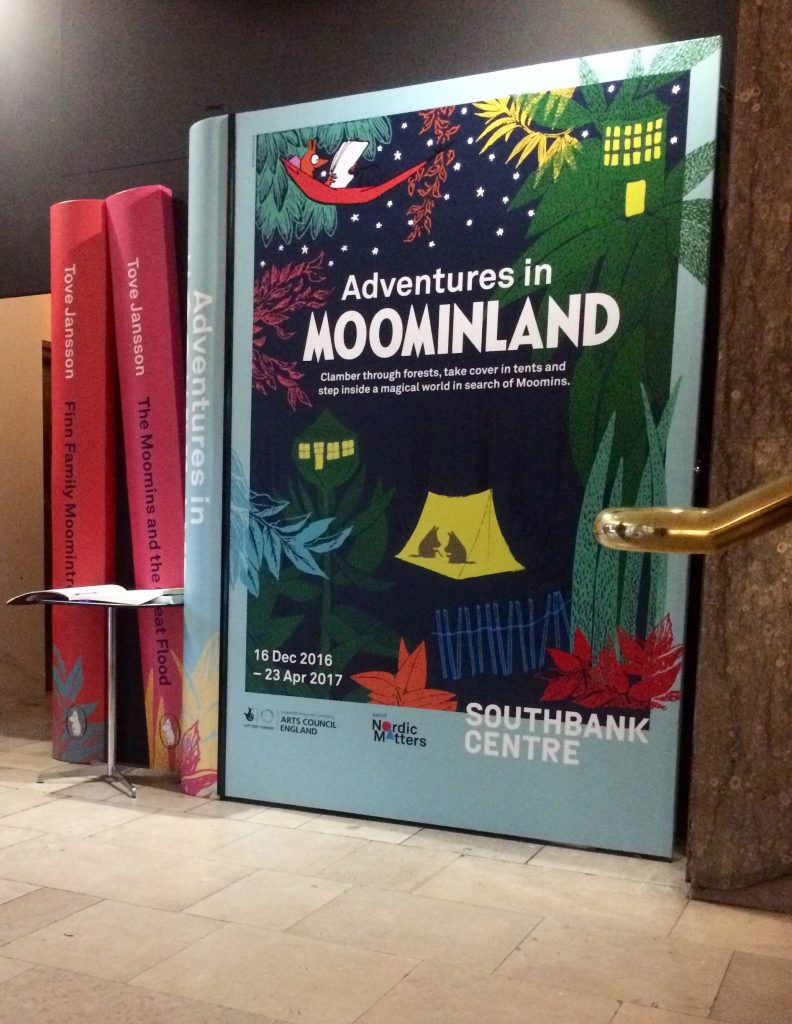 Adventures in Moominland entrance