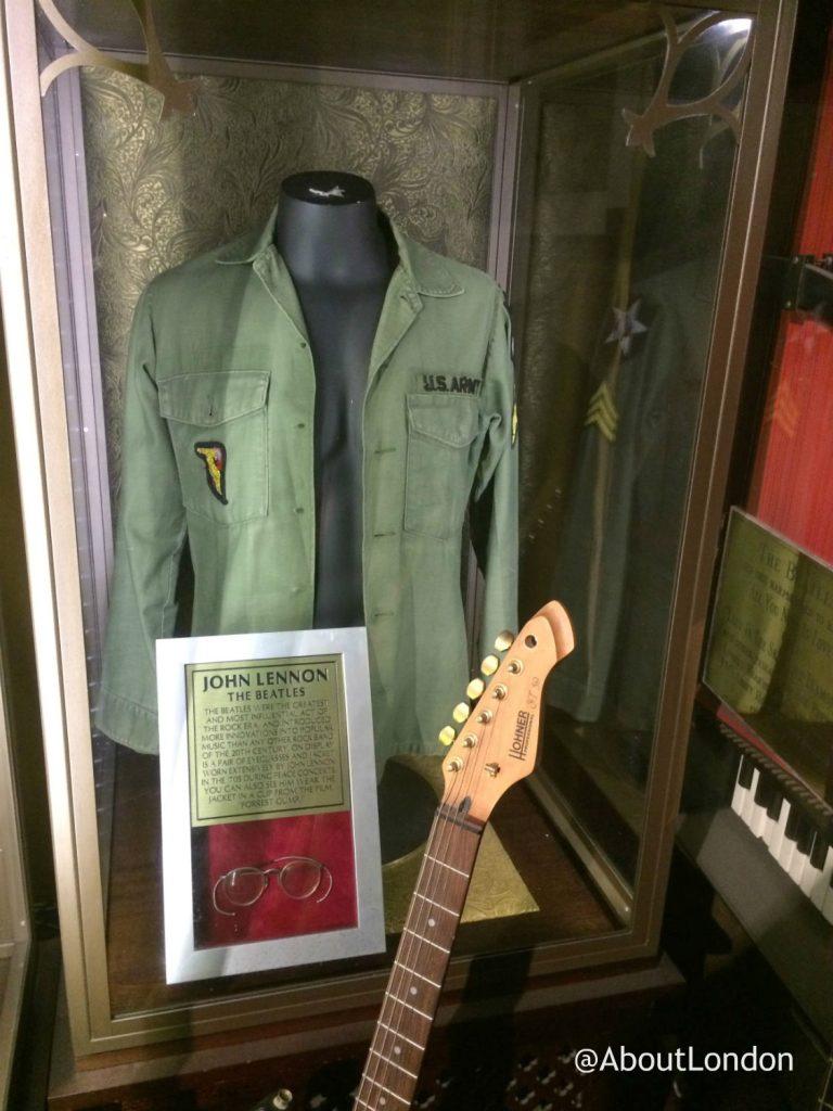 Hard Rock Cafe Vault - John Lennon memorabilia