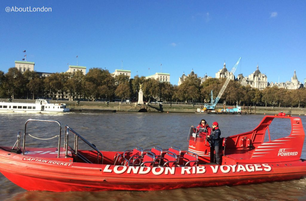 Thames Rockets Review - London RIB Voyages