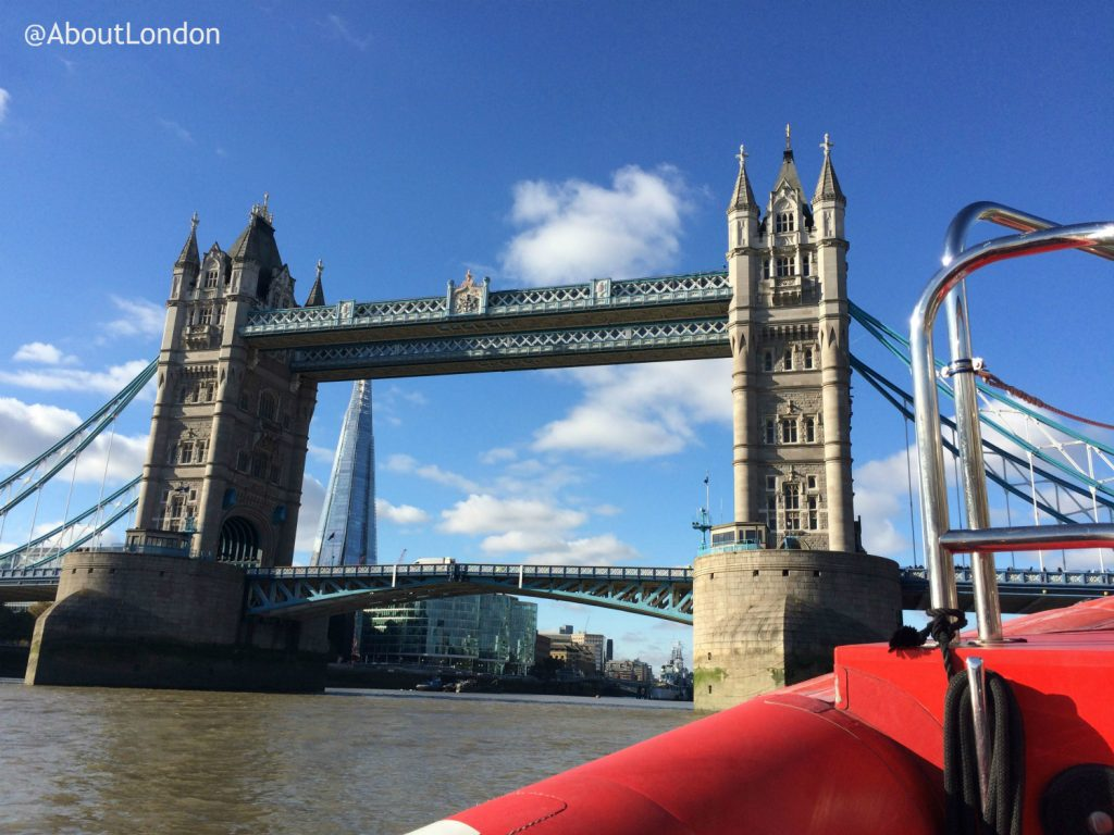 Thames Rockets Review - Tower Bridge seen from Thames Rockets