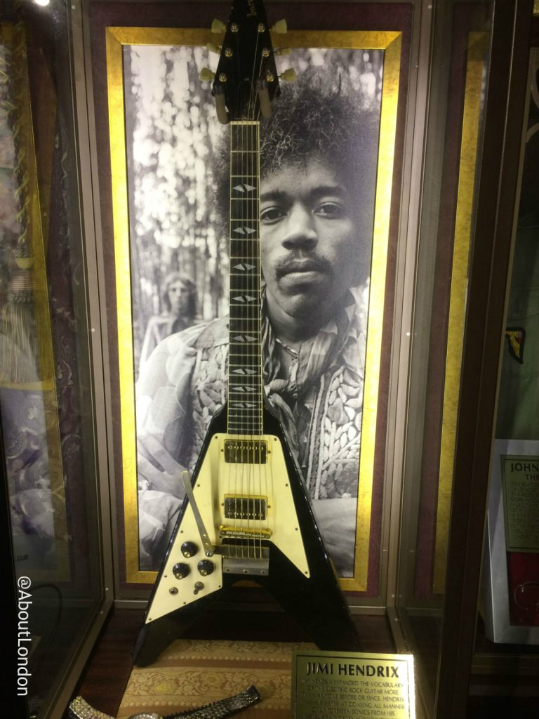 Hard Rock Cafe Vault - Hendrix guitar