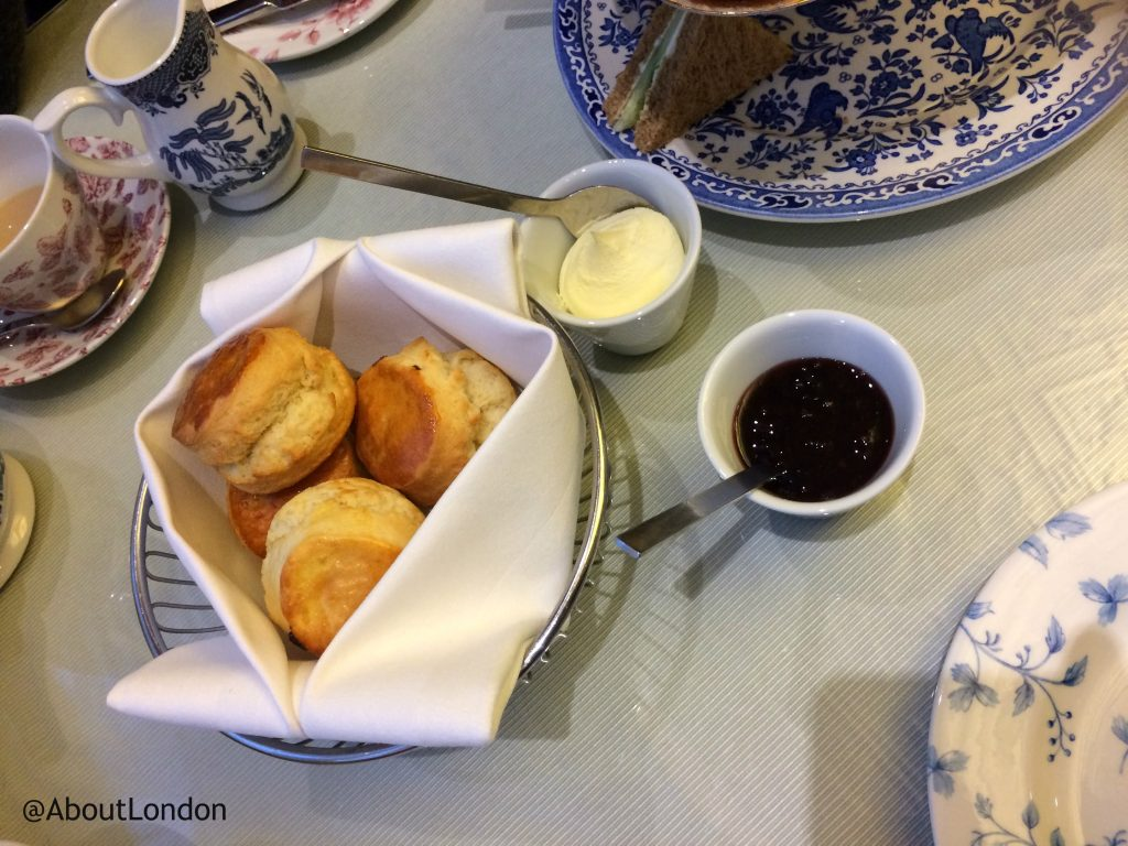 Winter Wonderland Afternoon Tea scones