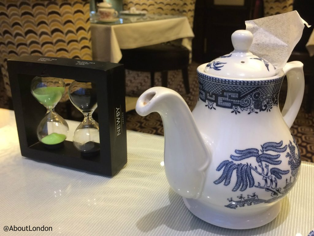 Winter Wonderland Afternoon Tea - teapot
