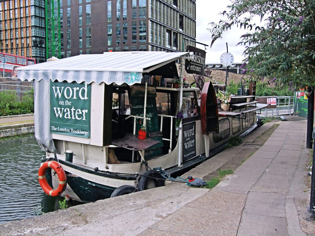 Word on the Water bookshop - Unusual Things To Do in King's Cross